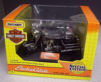 Amazon.com: Matchbox Harley Davidson escala 1/15 Electra ...