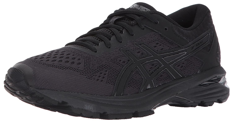ASICS Women's GT-1000 6 Running Shoe B01N3XQ9GK 7 B(M) US|Black/Black/Silver