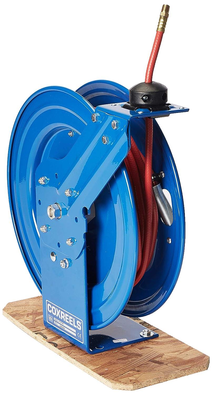 Coxreels P-LP-140 Low Pressure Retractable Air/Water Hose Reel: 1/4