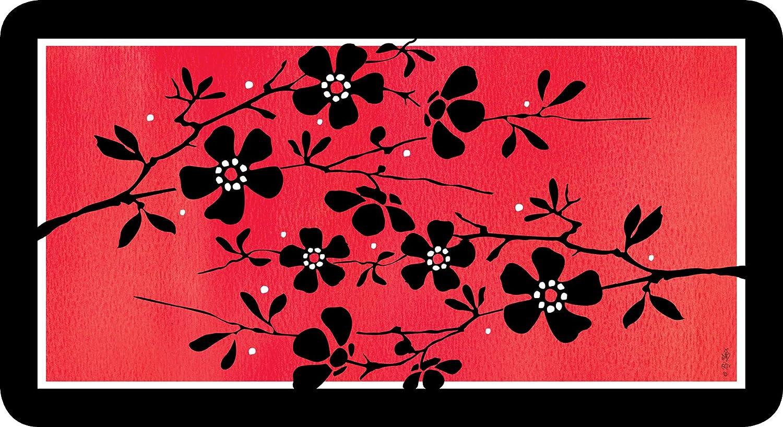 Toland Home Garden Zen Blossom Anti-Fatigue Comfort Mat Multicolor 20 x 38 20 x 38 810225