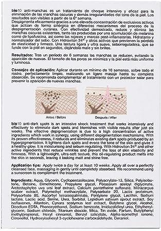 Bella Aurora Bio10 Serum Antimanchas Piel Mixta-Grasa | Tratamiento despigmentante Facial, 30 ml