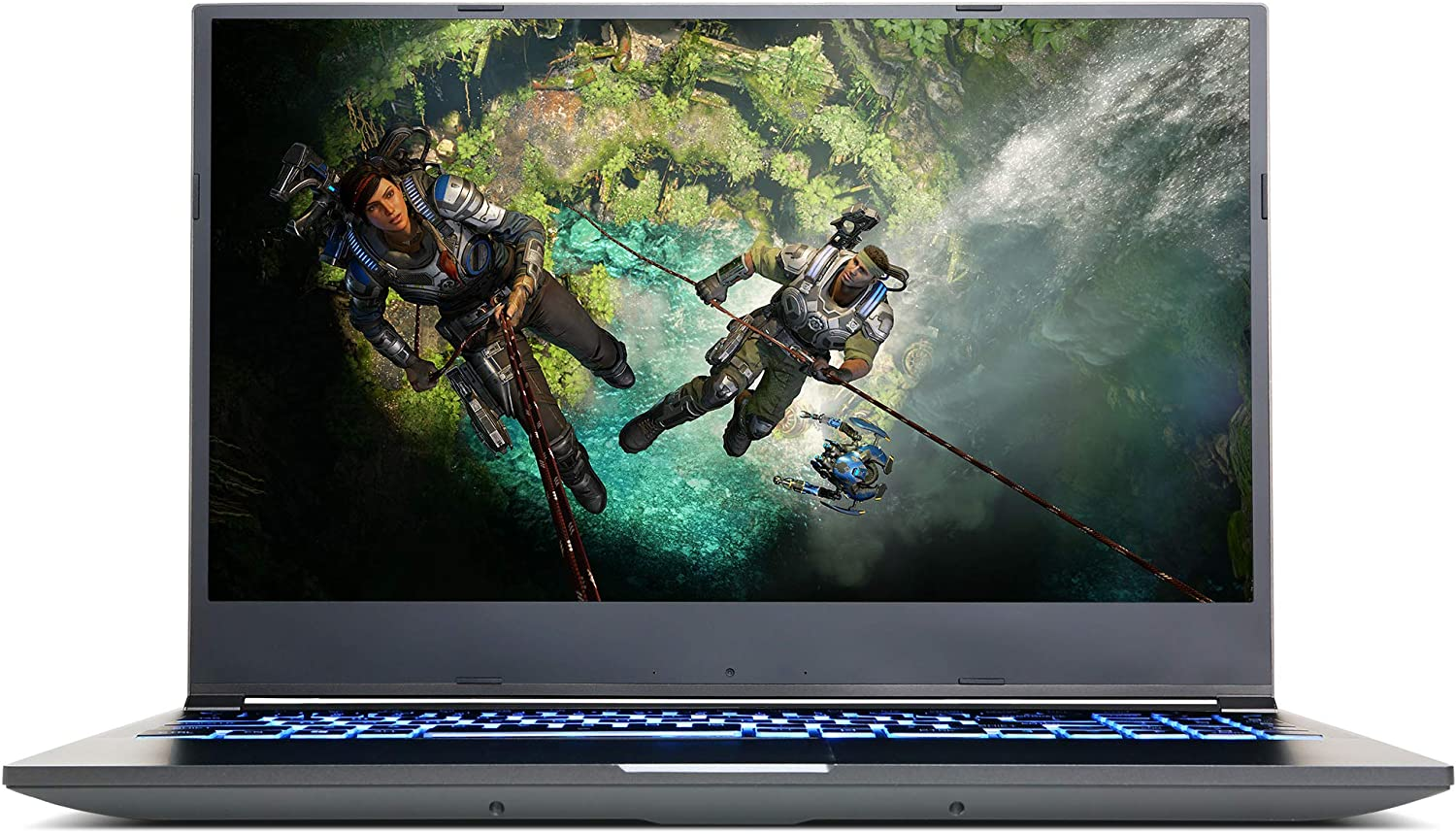 "CyberpowerPC Tracer IV Slim 15.6"" Gaming Notebook, Intel i7-10750H 2.6GHz, GeForce RTX 2060 6GB, 16GB DDR4, 1TB PCI-E NVMe SSD, WiFi, Bluetooth & Win 10 Home (GTS99804)"