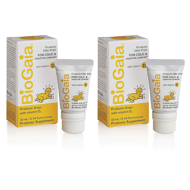 Amazon Com Biogaia Probiotics Drops With Vitamin D For Baby