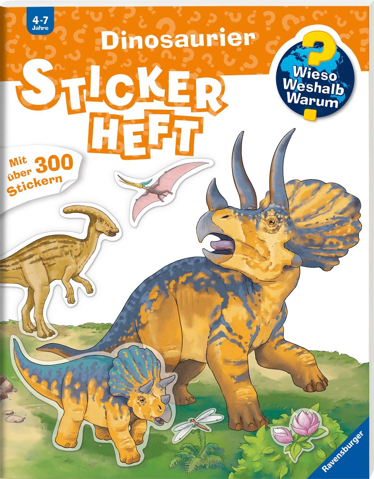 Dinosaurier  Wieso  Weshalb  Warum  Stickerheft
