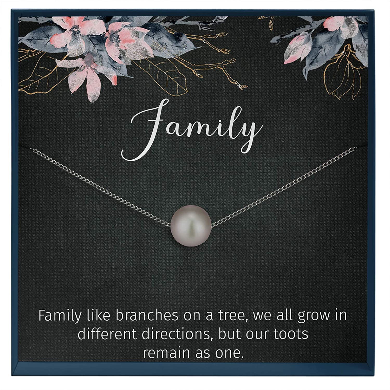 Muse Infinite Family Jewelry Grandmother Gift Grandmother to be Family Necklace Generation Jewelry Family Tree