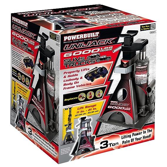 Amazon.com: Powerbuilt 620471 Unijack - 6000 lb. Capacity: Automotive
