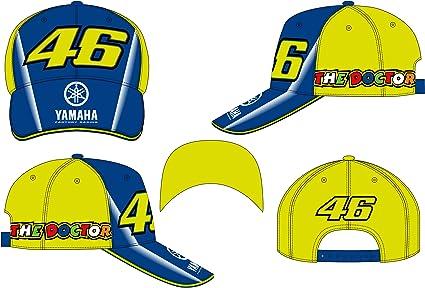 VR46 Gorra béisbol bebé Kid Yamaha Valentino Rossi: Amazon.es ...