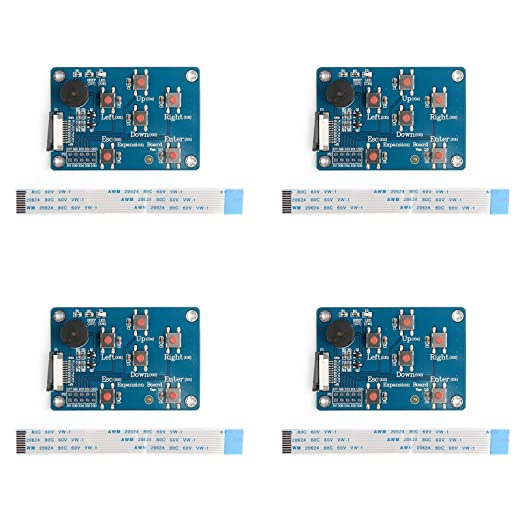 Areyourshop 4Pcs Nextion Enhanced Hmi Smart LCD Module I//O Extended Expansion Board