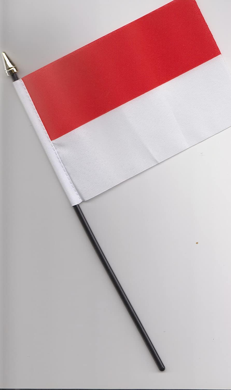 Indonesia Hand Flag 25cm