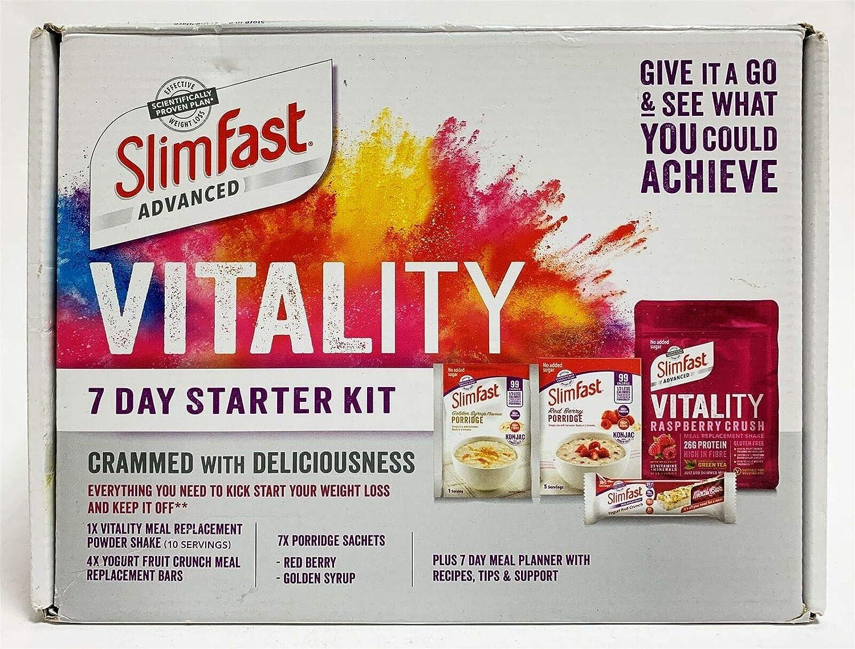 SlimFast Advanced Vitality - Kit de iniciación para 7 días ...