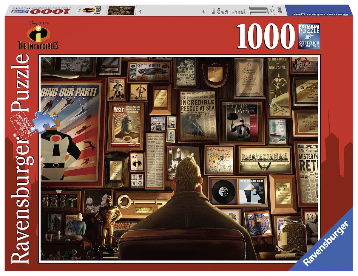 Ravensburger Disney Incredibles - 1000 Piece Puzzle by Ravensburger