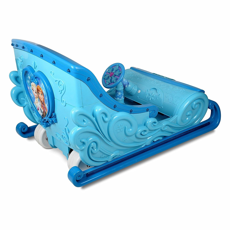 Disney Frozen 12 Volt Ride On Sleigh Toys Games Jeep Power Wheels Wiring Diagram Parts