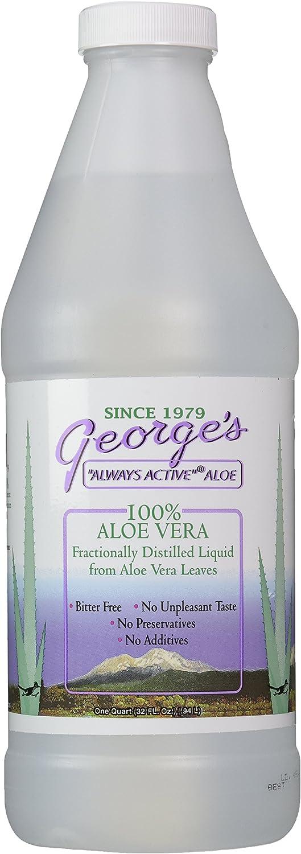 Georges Aloe Vera Drink, 32 Fl Oz (Pack of 1)