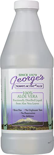 Georges Aloe Vera Drink, 32 Fl Oz Pack of 1