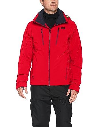 Helly Hansen Mens Alpha 3.0 Ski Jacket, Flag Red, ...