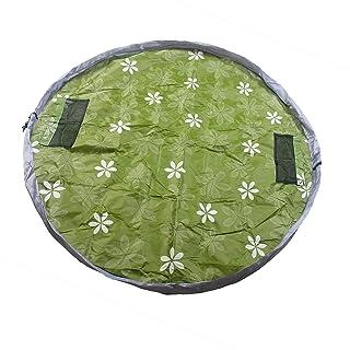 TUKA impermeabile 145cm Play-Tappeto gioco e borsa portagiocattoli per bambini, Portatile Giocattoli Organizzatore borsa Giocare Mat, rapida raccolta, verde, TKD4007 green TUKAI
