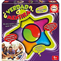 Educa - Verdad O Mentira, Juego de mesa familiar de rapidez, a partir de 8 años (16989): Amazon.es: Juguetes y juegos