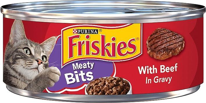 Amazon.com: Purina Friskies alimento húmedo extra para gatos ...