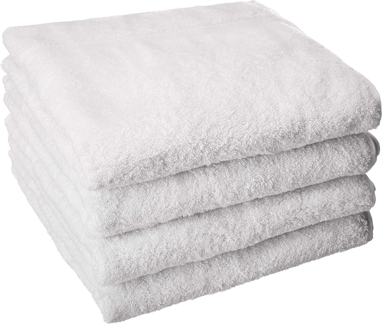 Vivendi Serenity - Juego de 4 toallas de baño (100% algodón turco ...
