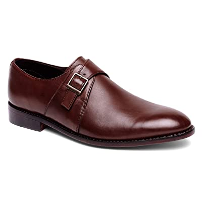 Anthony Veer Roosevelt Men's Monk Strap Dress Shoe in Full Grain Leather Goodyear Welted Construction | Oxfords