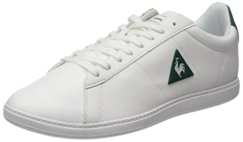 Le COQ Sportif Courtset S Lea, Entrenadores Bajos Unisex Adulto, Blanco (Optical White/Dress), 39 EU