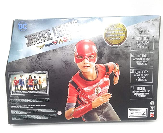 Justice League The Flash Hero-Ready Set: Toys & Games