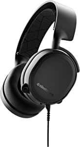 SteelSeries Arctis 3 Console (2019 Edition) Stereo Wired Gaming Headset for PlayStation 4, Xbox One, Nintendo Switch, VR, Android and iOS - Black