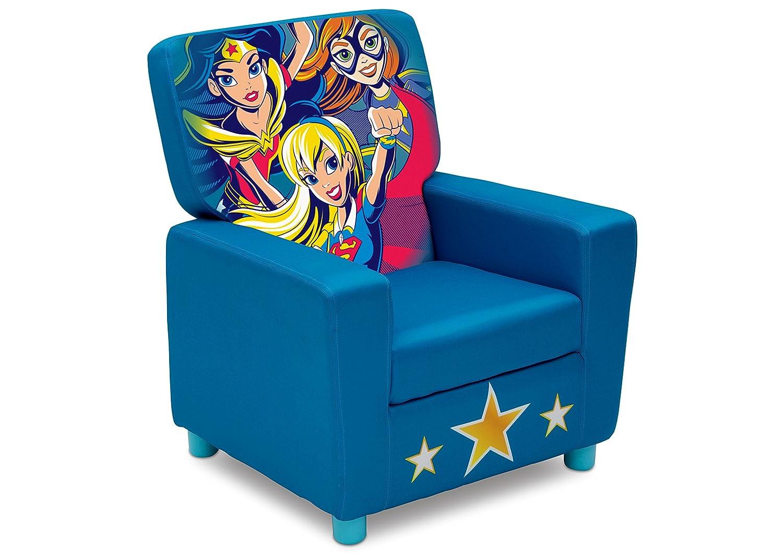 Delta Children High Back Upholstered Chair, DC Super Hero Girls