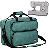 HOMEST Sewing Machine Carrying Case, Universal Tote Bag with Shoulder Strap Compatible with Most Standard Singer…