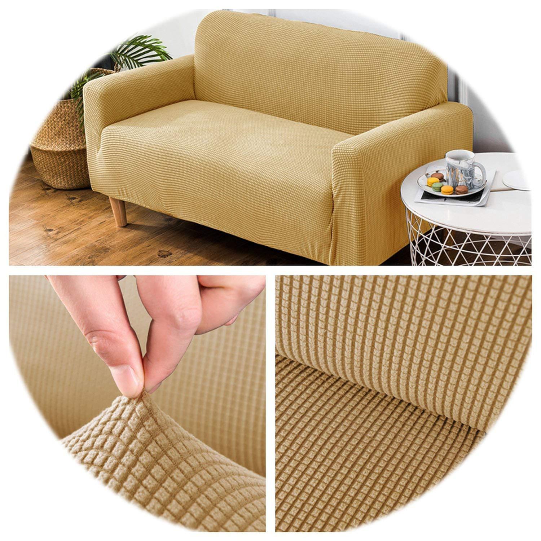 Amazon.com: Velvet Sofa Covers for Living Room Solid ...