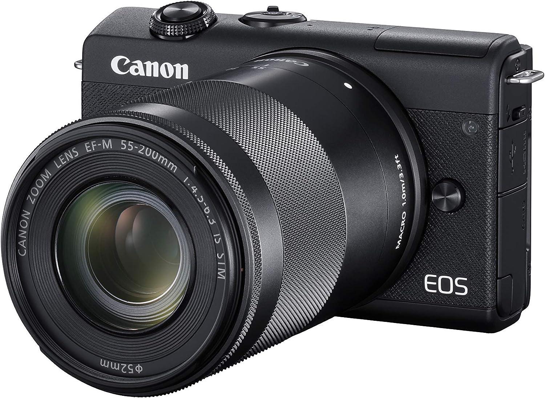 Canon Eos M200 Systemkamera Gehäuse Mit Objektiven Kamera