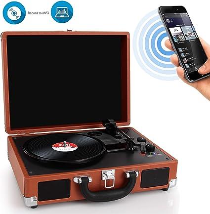 Amazon.com: Pyle pvttbt6br Bluetooth Clásico estilo clásico ...