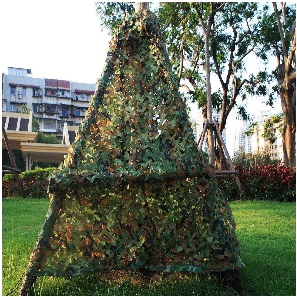 STTHOME Red de Camuflaje Redes de Camuflaje del Ejército Bosque para Niños Malla de Camping Ocultar Caza Disparar Protector Solar Redes Militares 2x3M 3x3M 4x5M 6x6M Verde (Size : 2x10m): Amazon.es: Hogar