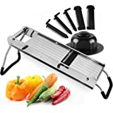 Josef Strauss French Style Stainless Steel Professional Mandoline Slicer - Commercial Grade