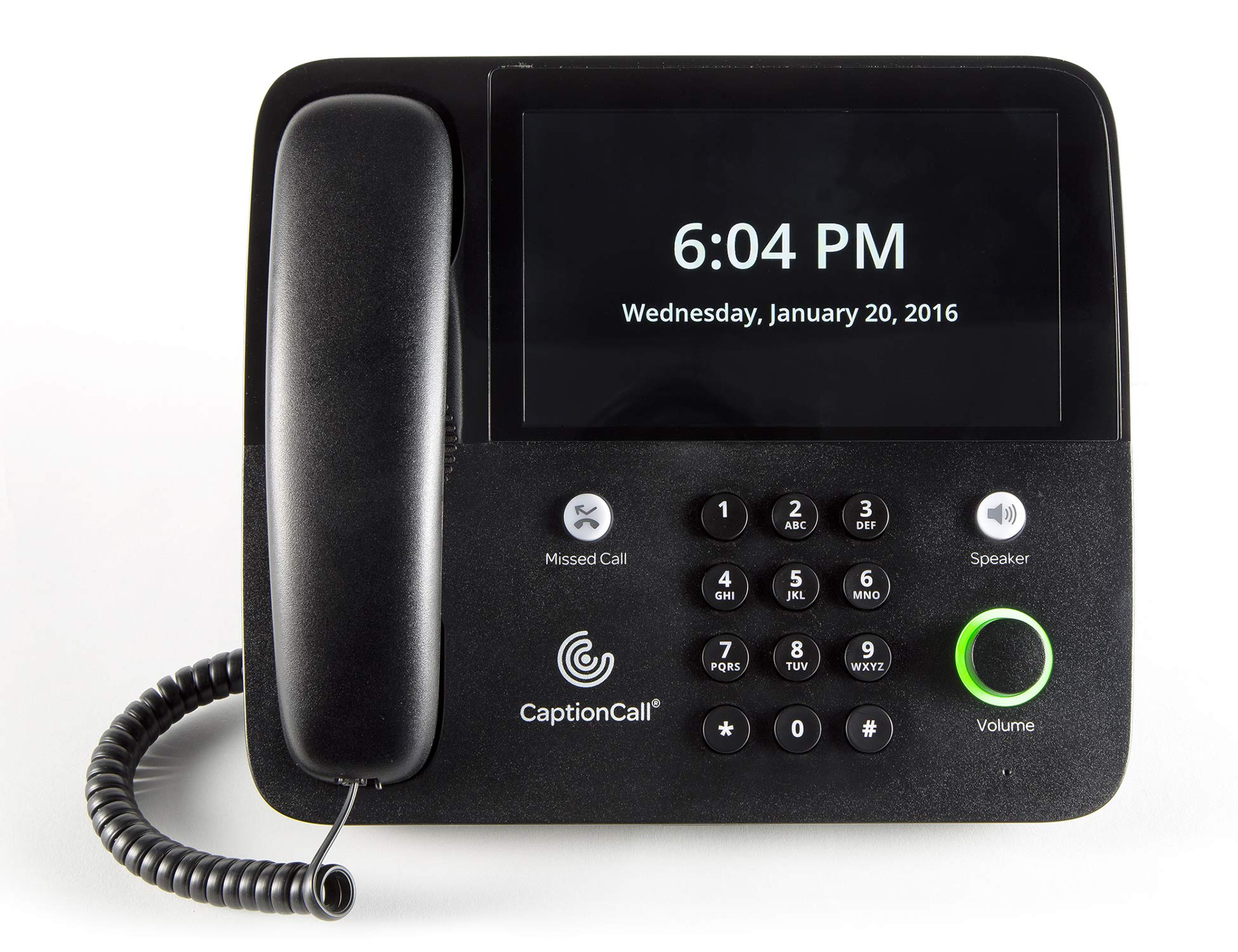 CaptionCall 67Tb Amplified Captioned Corded Home Telephone Touch Screen, 58dB Amplification, Caller ID, Answering Machine, Bluetooth, Loud Ringer Hearing Impaired by CaptionCall (Image #6)