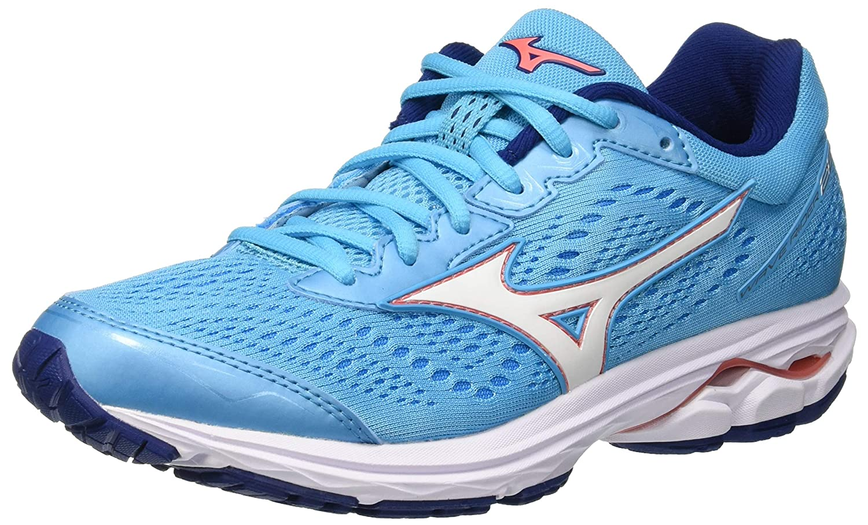 f7a7c35f4fd78 Mizuno Women s Wave Rider 22 (W) Running Shoes  Amazon.co.uk  Shoes   Bags