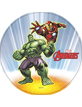 COOLMP - Lote de 6 Discos Azyme Hulk e Iron Man Avengers ...