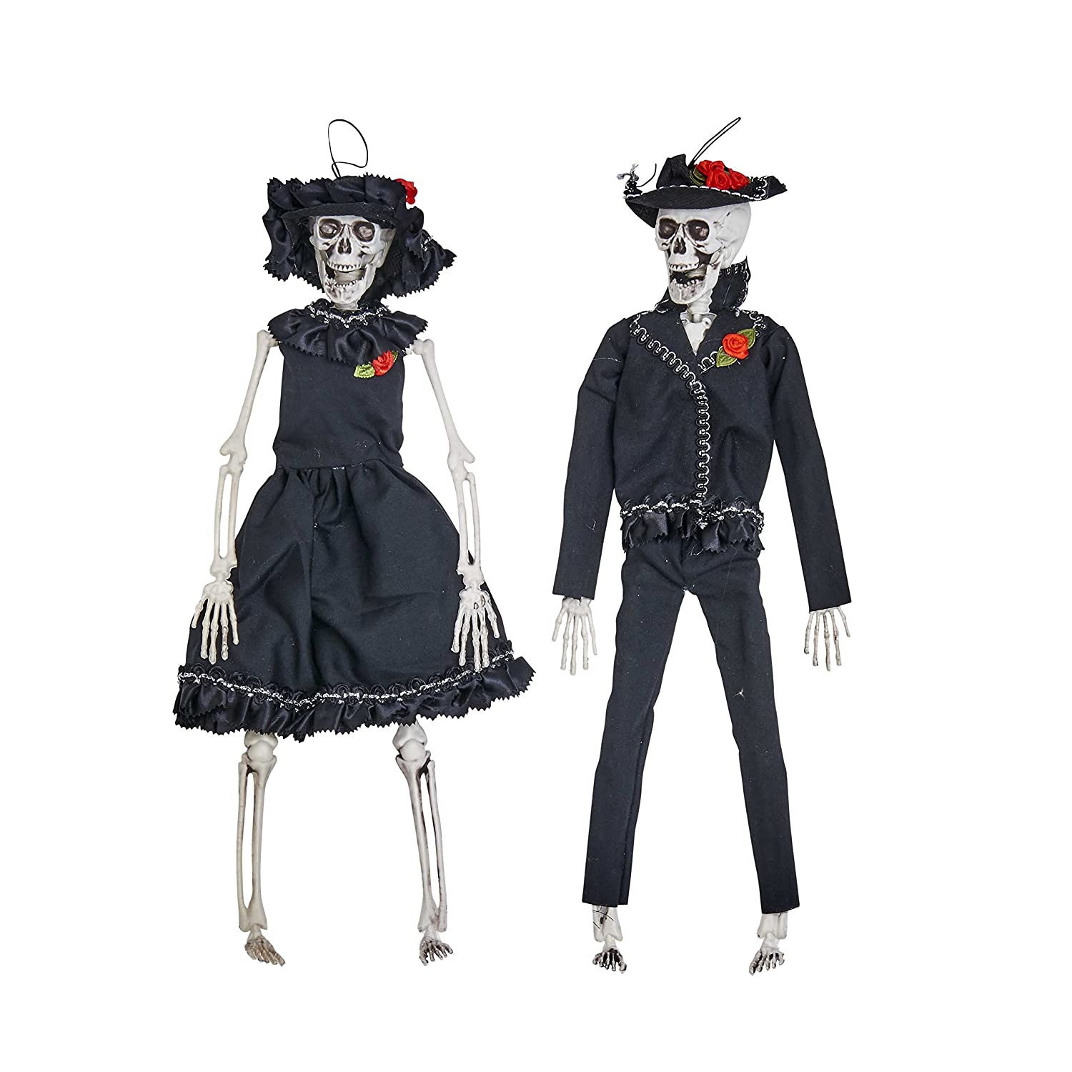 Worth Imports 15 Hanging Skeleton Bride and Groom Home D/écor