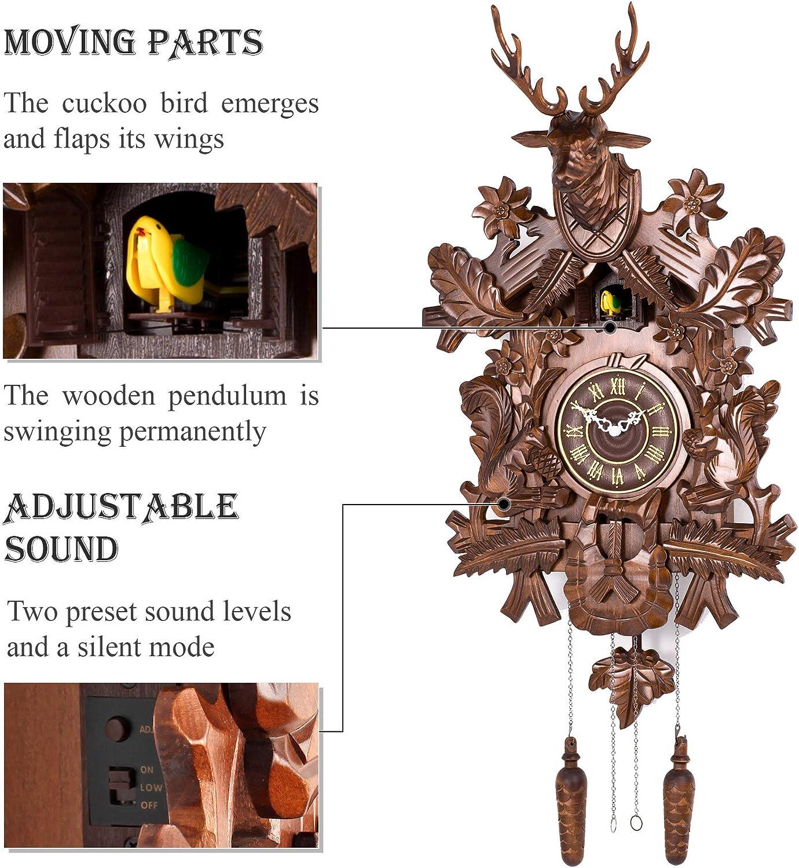 alpha-ene.co.jp Polaris Clocks Cuckoo Clock in Black Forest Style ...