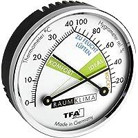 TFA TFA45.2024 Analog Termometre Higrometre 3, Siyah