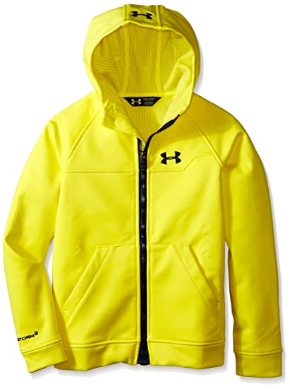 new product dde22 79b36 Under Armour Boys UA Coldwear Infrared Softshell Hooded Jacket (Big Kids),  Sunbleached (
