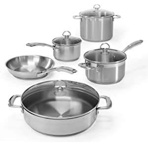 Chantal Induction 21 Steel Cookware Set