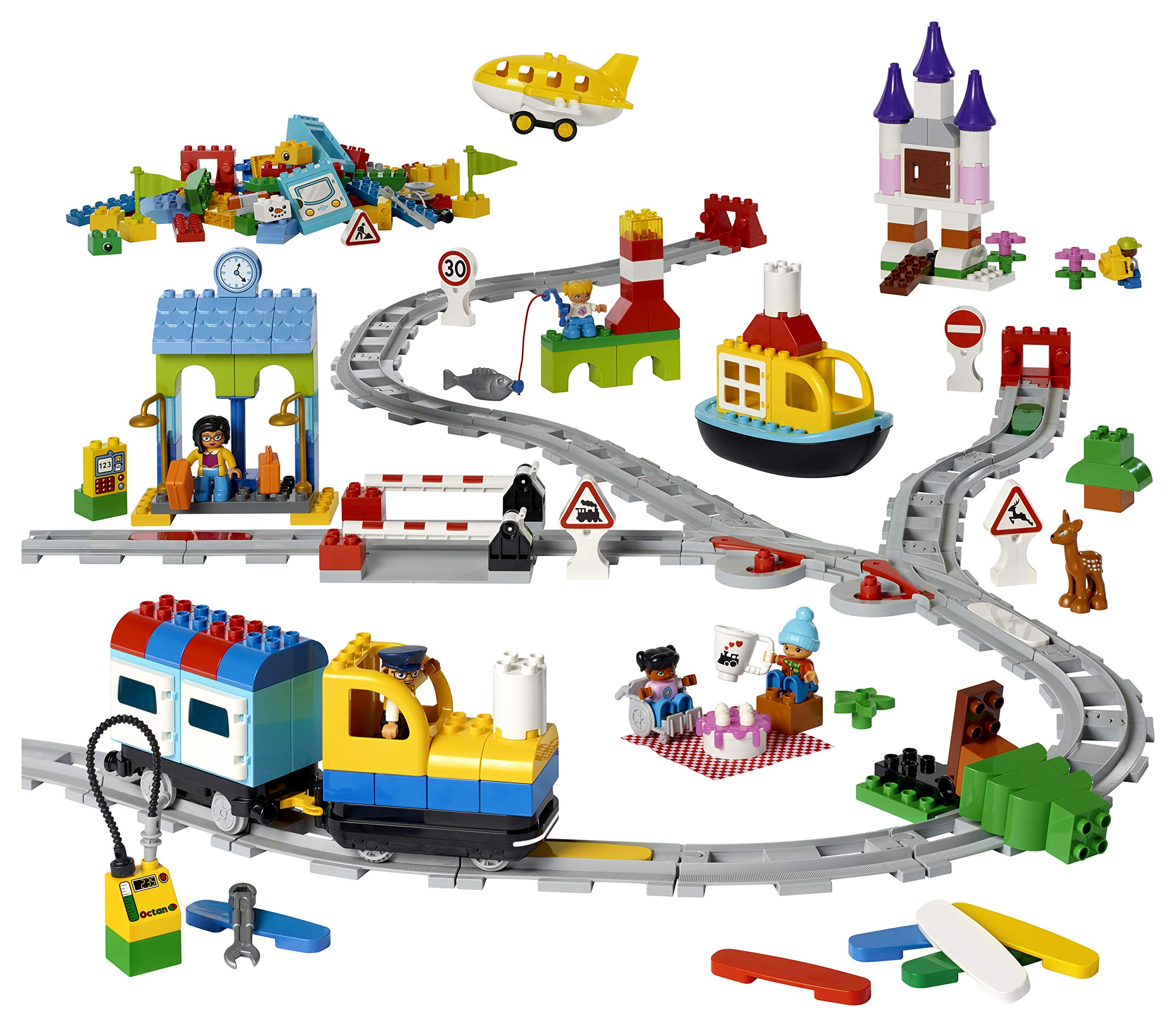 Lego Coding Express Duplo Set 45025, Fun STEM Educational Toy, Introduction to Steam Learning for Girls & Boys Ages 2 & Up (234Piece) by LEGO Education (Image #3)