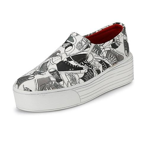 Platform Canvas Sneakers Shoes