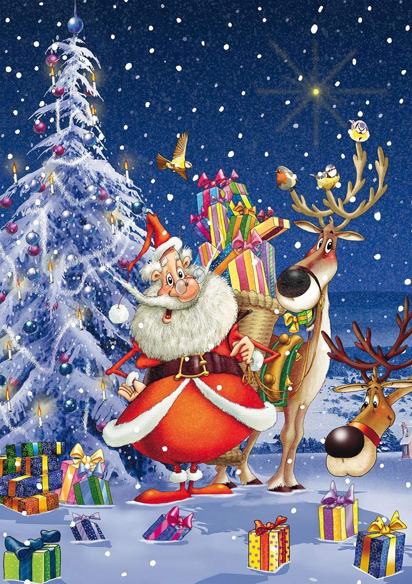 Puzzle 1000 Piatnik Happy Santa
