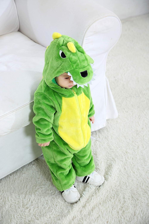 Tonwhar Kids and Toddlers Costumes Animal Onesie Cosplay Costume Baby Romper Jumpsuit