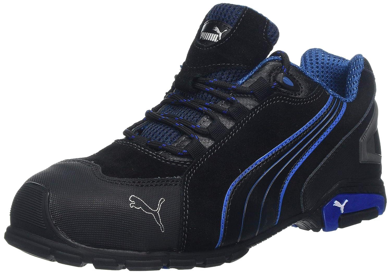 new arrivals 2c9ea ce6fd Puma Safety Footwear Mens Rio Low Suede S3 Rated Toe Cap Safety Shoes   Amazon.es  Amazon.es