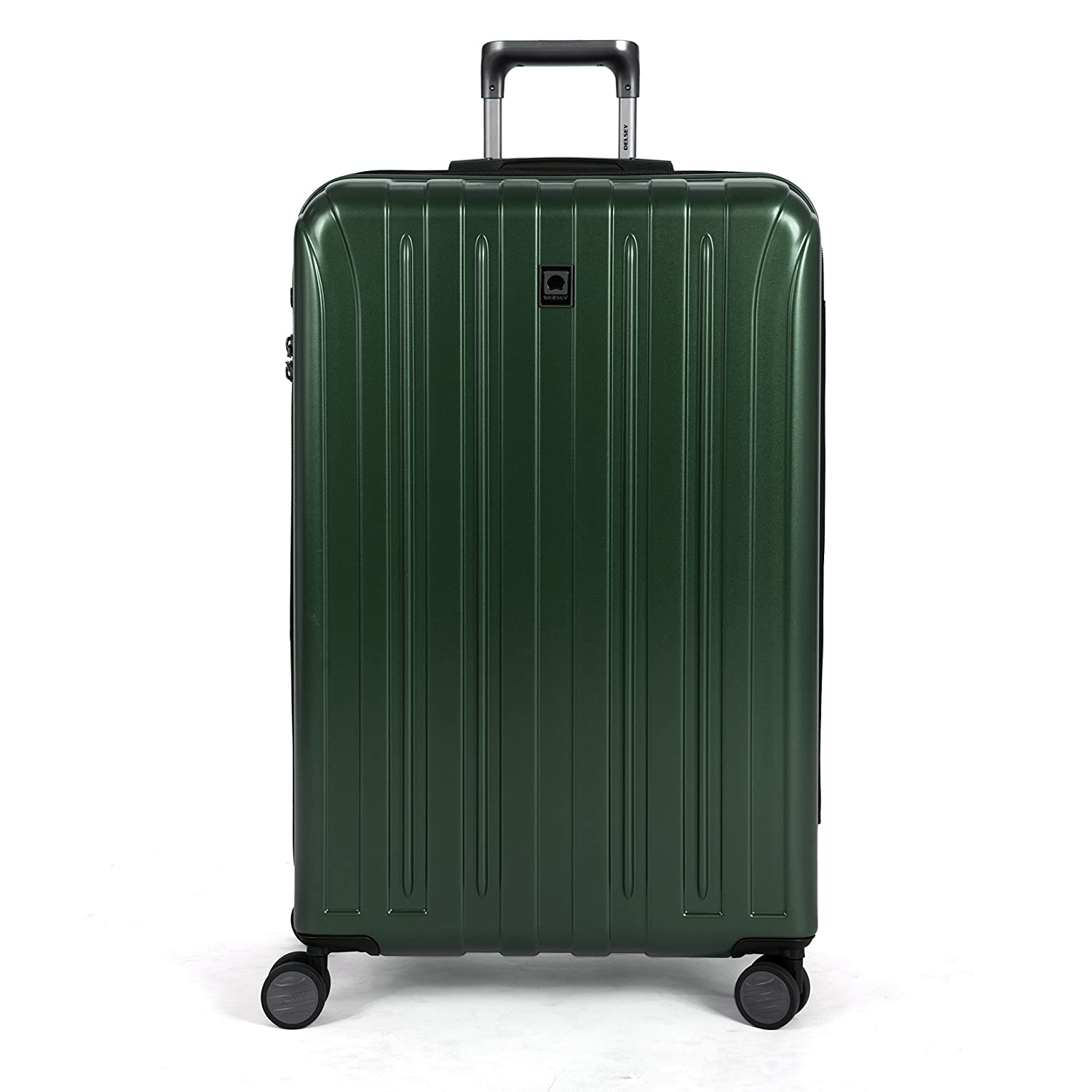 Delsey Luggage Helium Titanium 29 Inch EXP Spinner Trolley Metallic, Graphite, One Size Inc. 00207183001