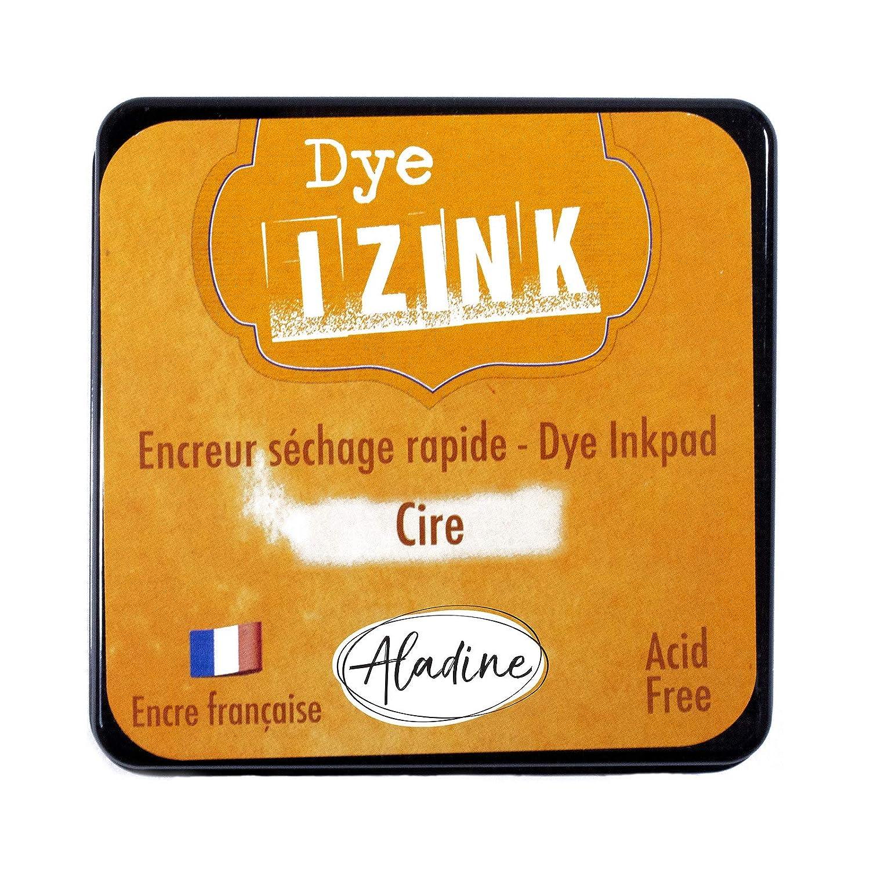 Aladine Encreur /à S/échage rapide pour Tampons et Pochoirs 5 x 5 cm Taille M Encre Fran/çaise Couleur Rose Scrapbooking et Carterie Cr/éative Encreur Izink Dye Ros/ée