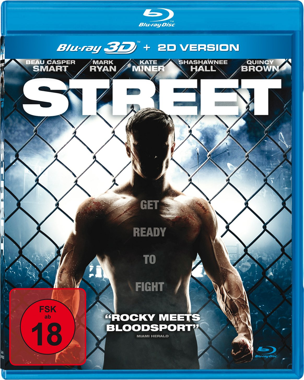 Street - Get Ready To Fight inkl. 2D-Version Italia Blu-ray: Amazon.es: Smart, Beau, Ryan, Mark, Miner, Kate, Hall, Shashawnee, Brown, Quincy, May, Bradford, Smart, Beau, Ryan, Mark: Cine y Series TV